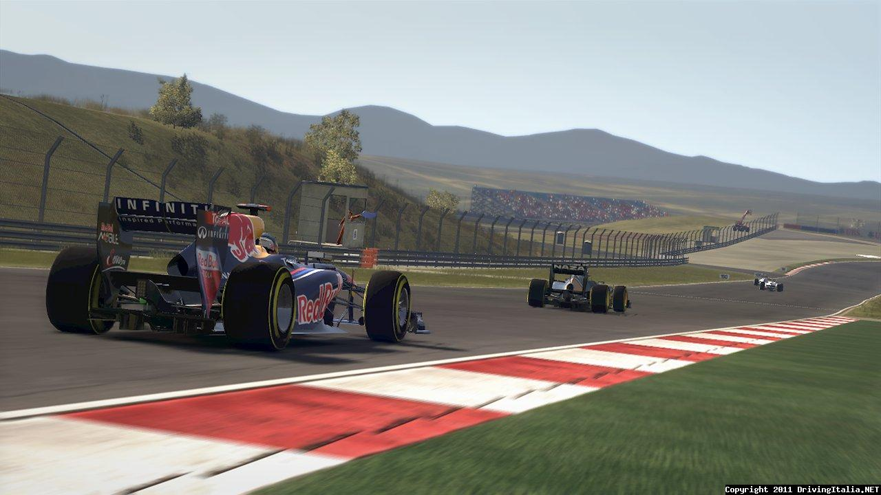 F1 2011 Static T-Cam
