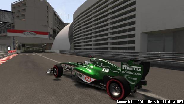 F1 2011 Jaguar F1