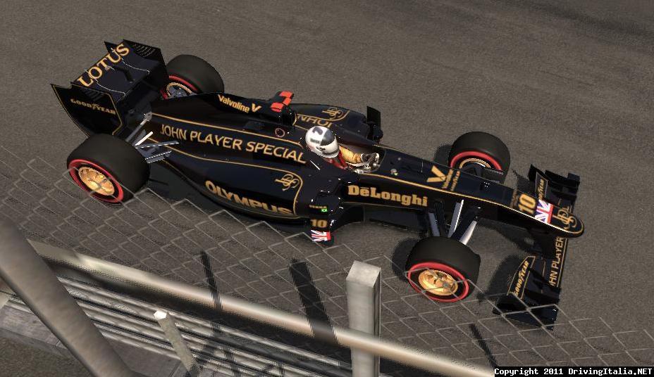 F1 2011 Lotus Classic Skin