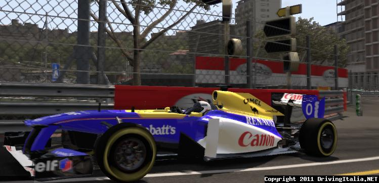 F1 2011 Williams FW15C