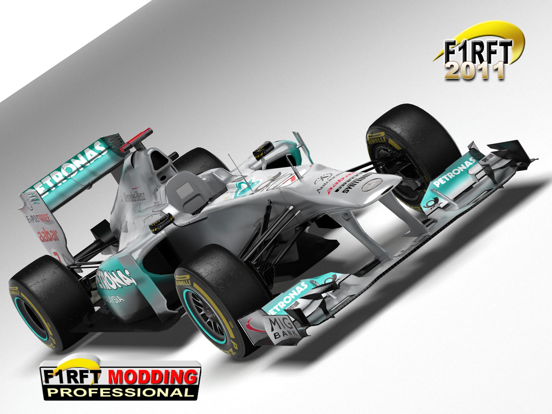 Megérkezett az F1RFT 2011 demó