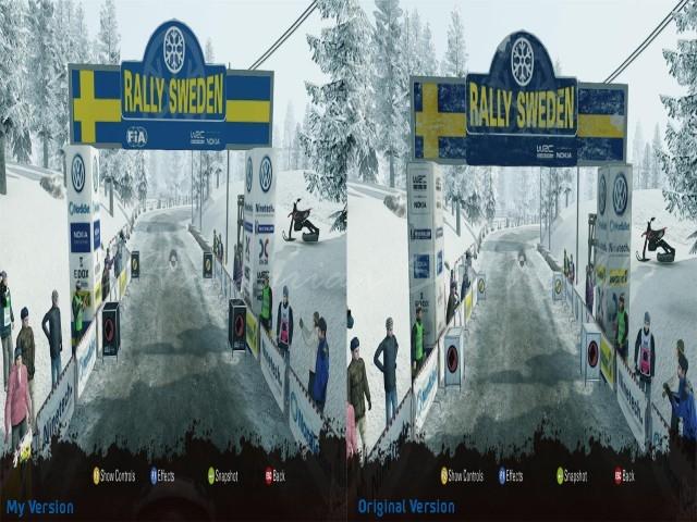 WRC3 Sweden Track Update v1.0