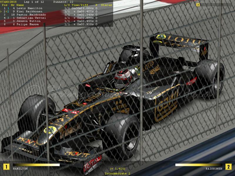Grand Prix 4 F1 2012 mod