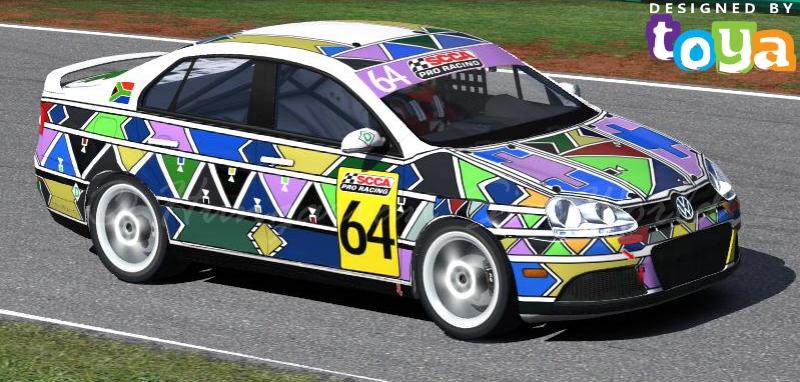 Esther Mahlangu Style VW Jetta