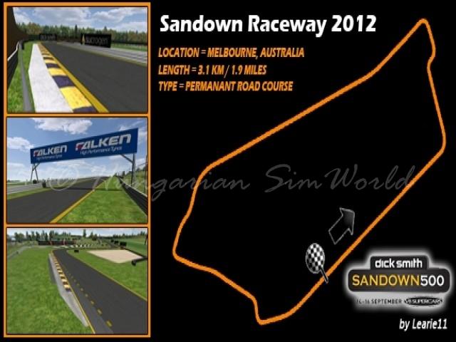 GTR Evo Sandown Raceway 2012 v1.0