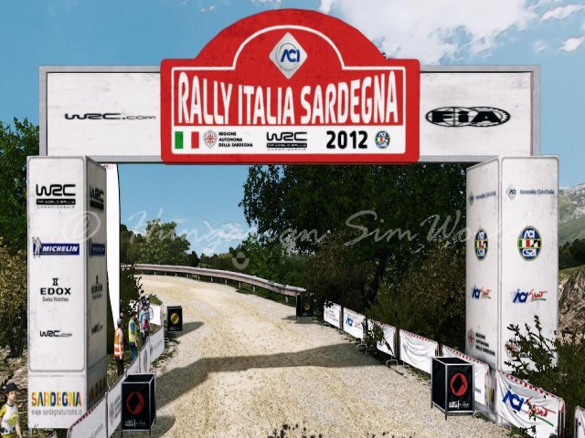 WRC3 Sardinia Track Update v1.0