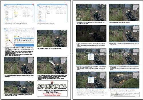 Spintires Truck/Trailer Installation Tutorial v1.0