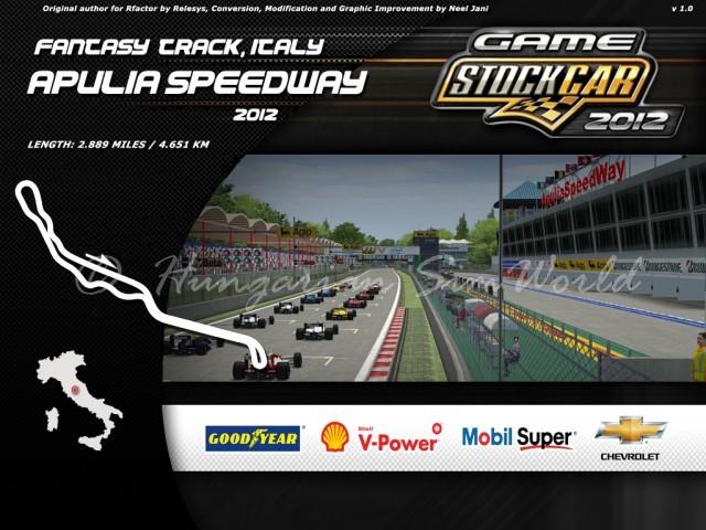 GSC Apulia Speedway 2012 v1.0