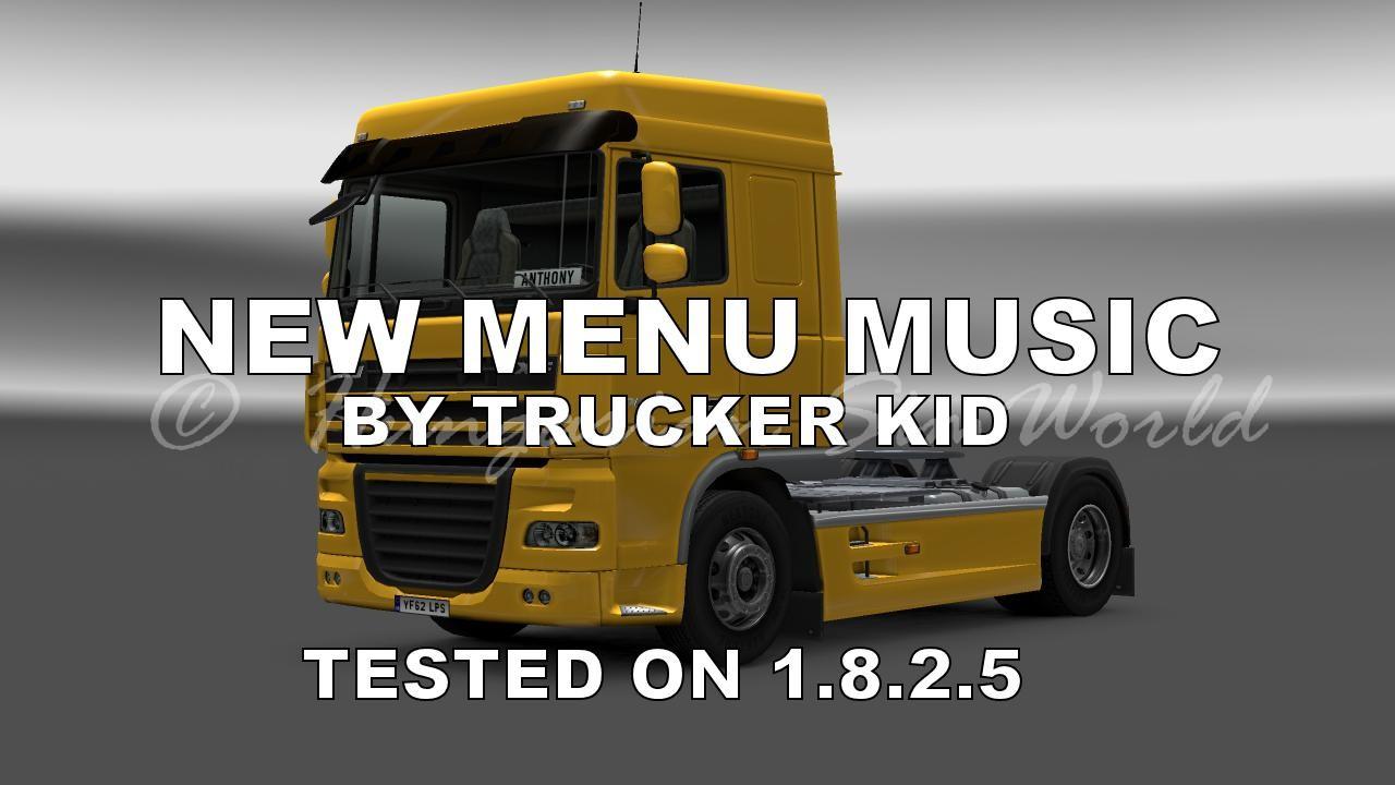 ETS2 New Menu Music 1.8.2.5