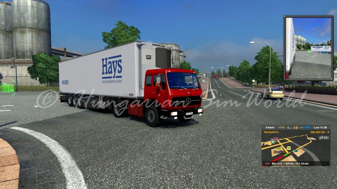 ETS2 Mercedes 1632 Sound Mod