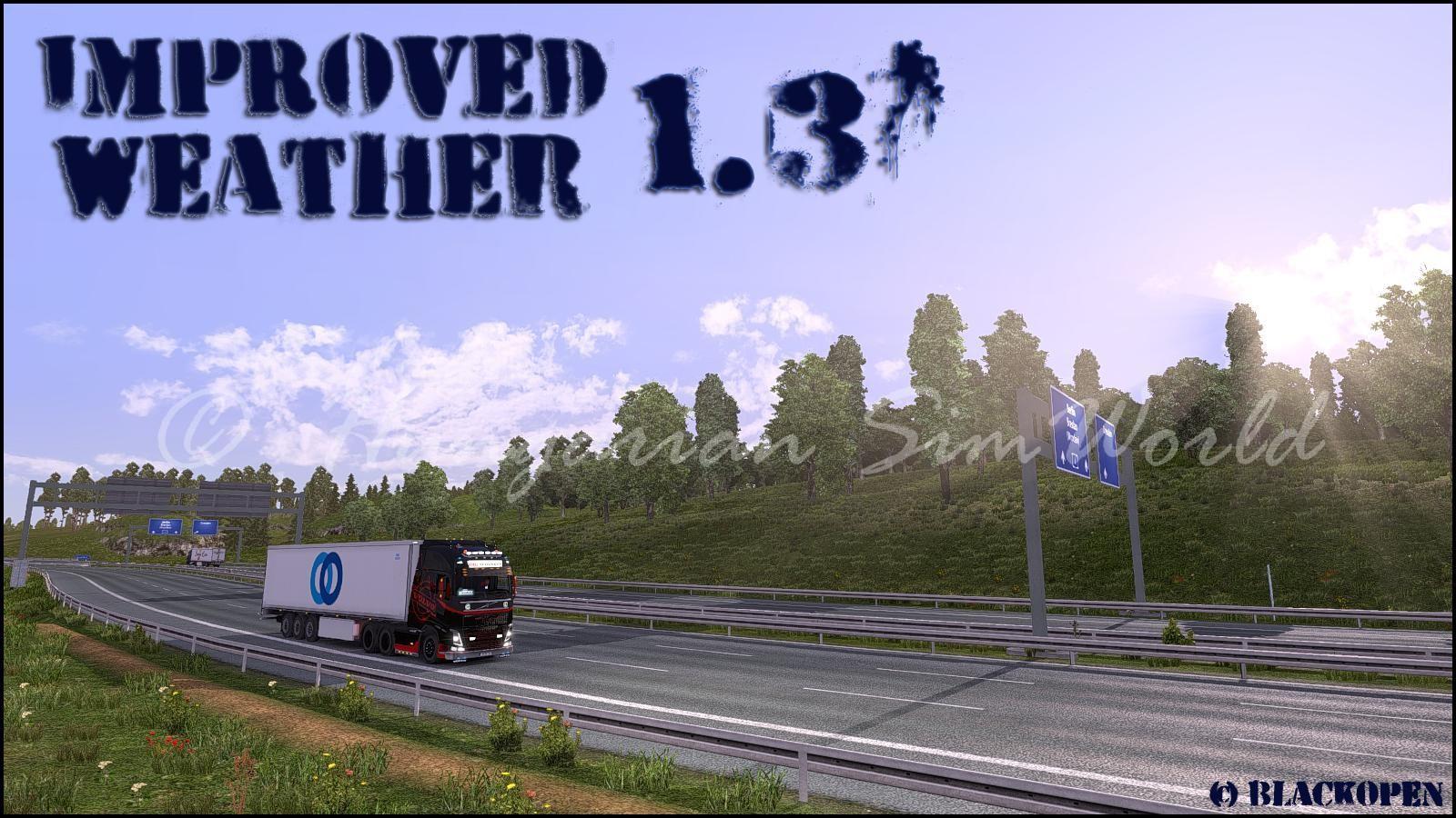 ETS2 Improved Weather v1.3.5