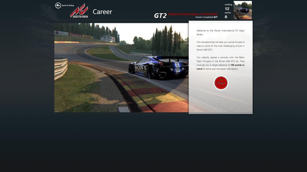 AC Ferrari International GT Open Series v1.0