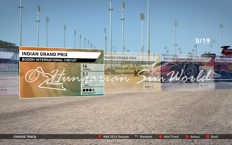 F1 2014 5 Additional Tracks v2.0