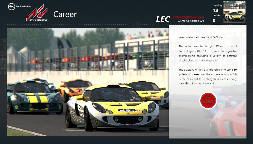 AC Lotus Exige 240R Cup v1.0