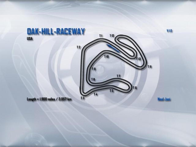 Race07 Oak Hill Raceway v1.0
