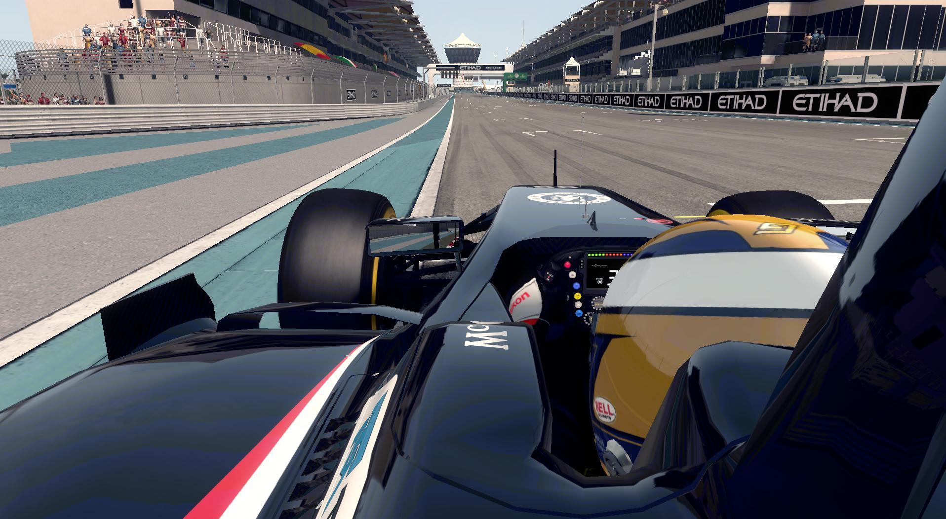 F1 2014 Marcus Ericsson Sauber Helmet v1.1