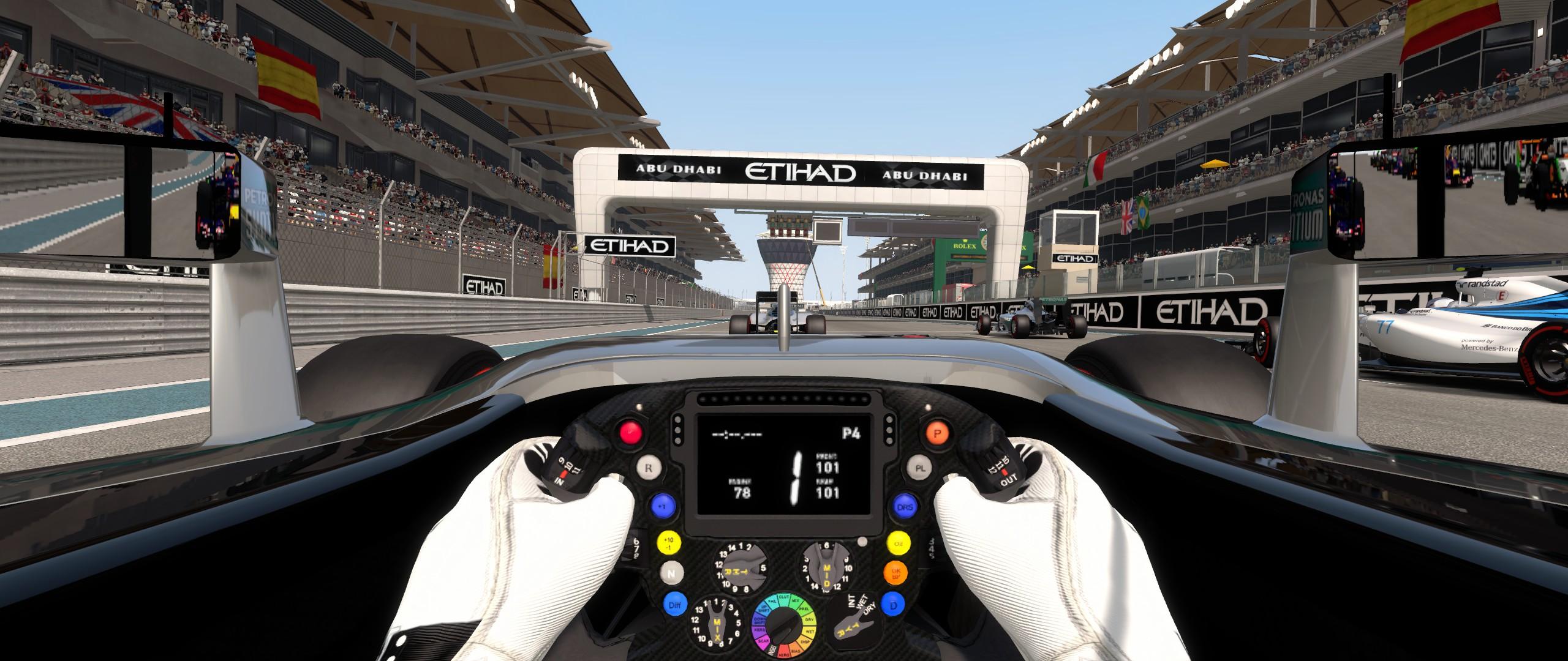 F1 2014 LS Cockpit Camera Mod v1.41