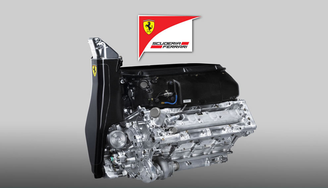 F1 2014 Ferrari Engine TURBO V6 2014 v1.1
