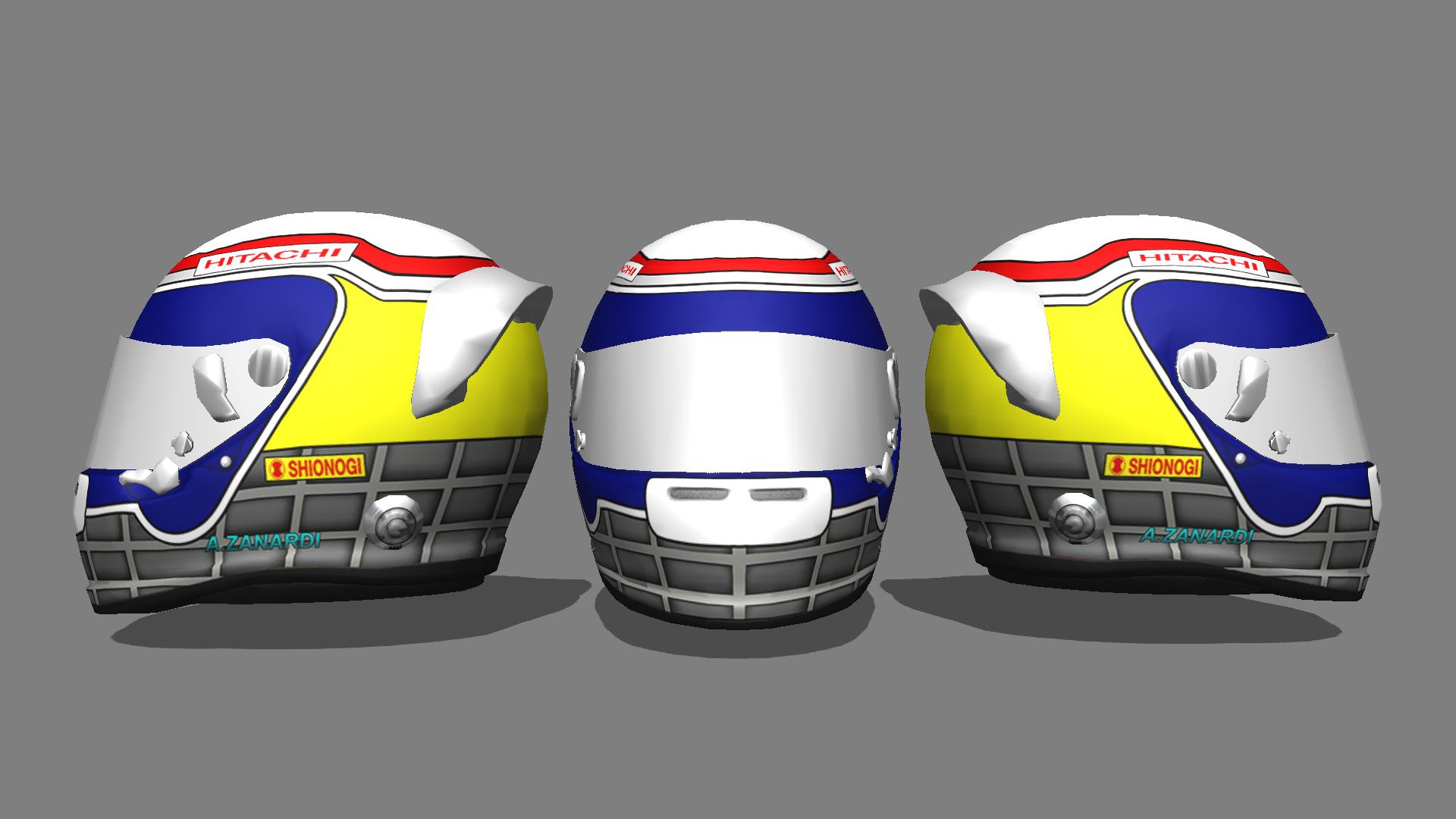 F1 2014 1994 Helmet Pack v1.0
