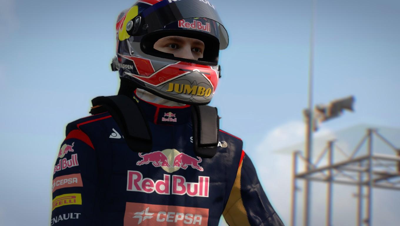 F1 2014 Max Verstappen Helmet v6.0