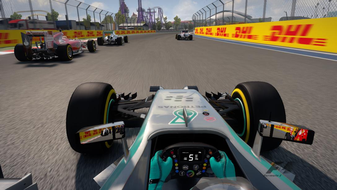 F1 2014 Sky Sports Styled OSD v4.0
