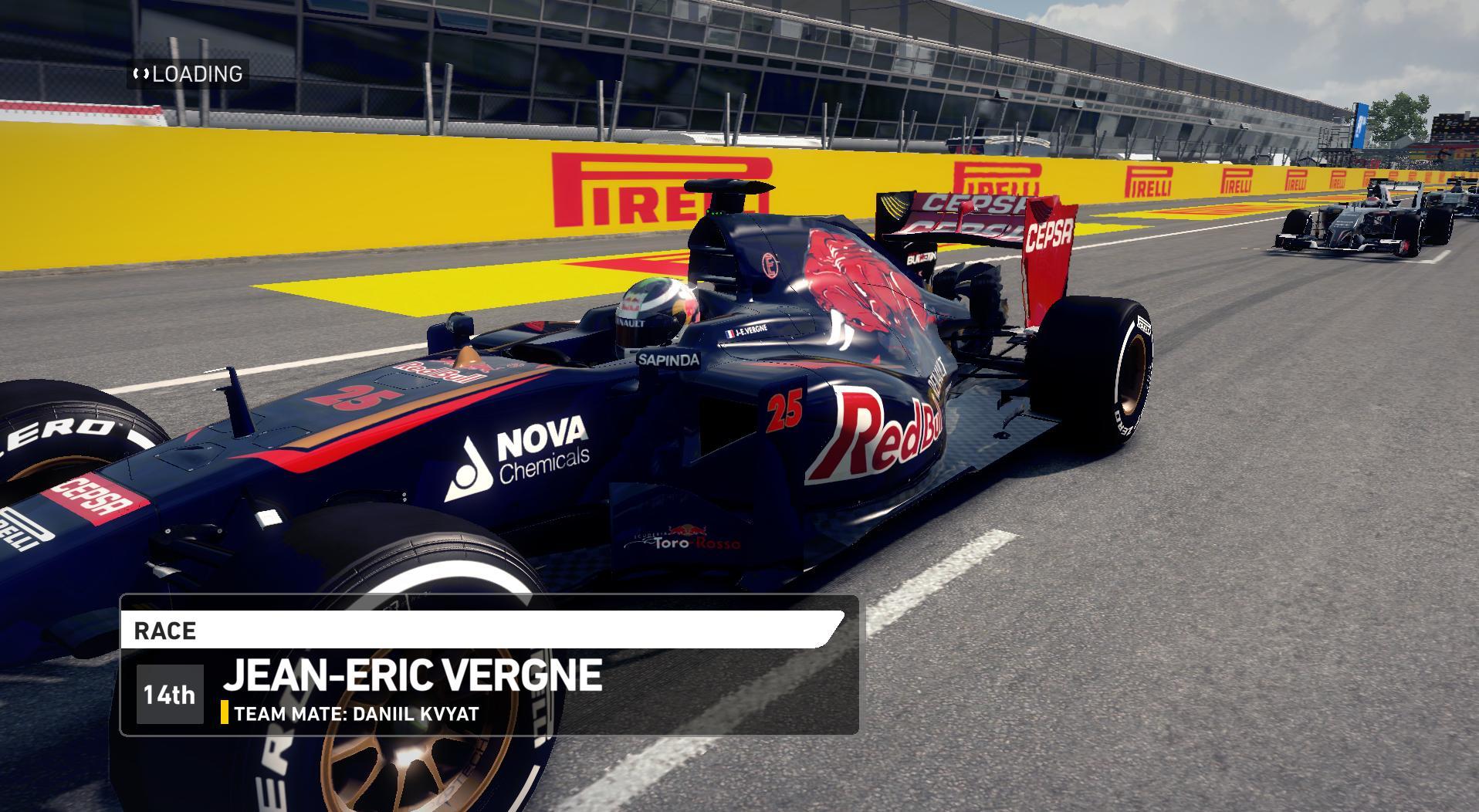 F1 2014 Jean-Éric Vergne Italy Helmet 2014 v1.0