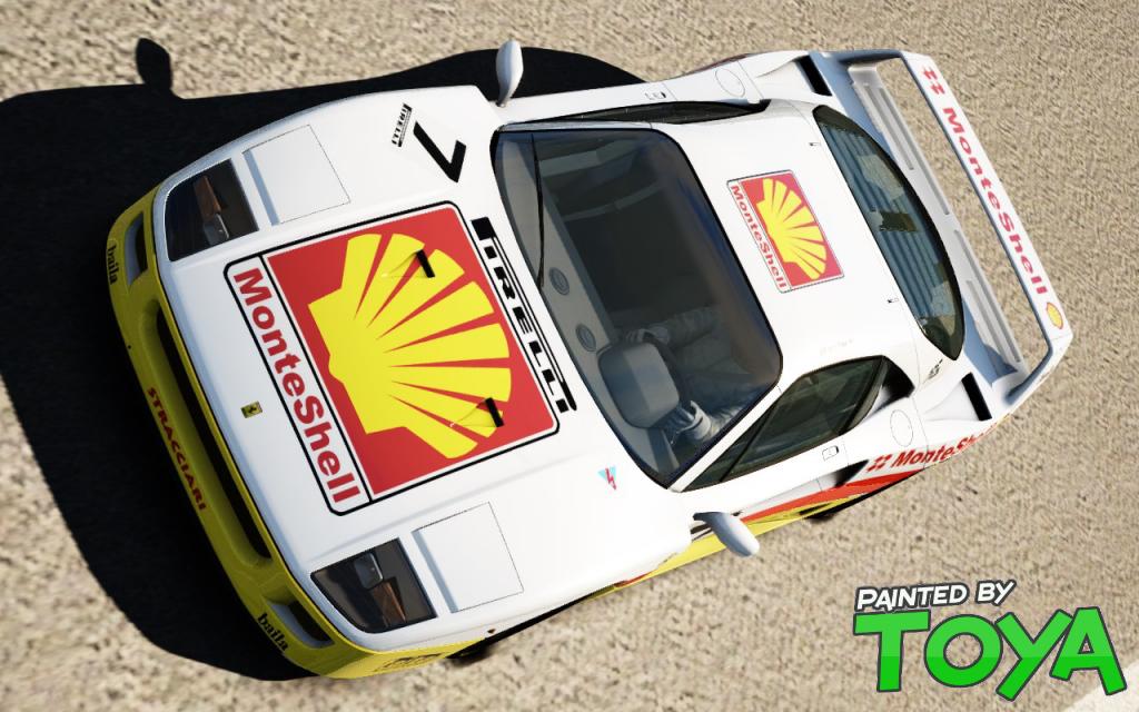 AC MonteShell Ferrari F40 v1.0