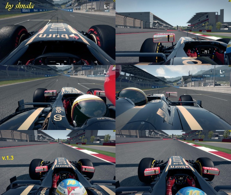 F1 2014 REAL Onboard Cams v1.3