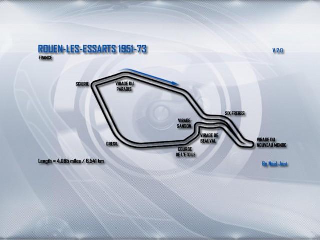 Race07 Rouen les Essarts and Rouen Chicane v2.0