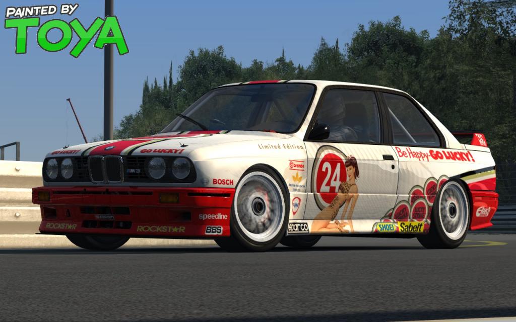 AC Lucky Strike BMW M3 E30 DTM v1.0