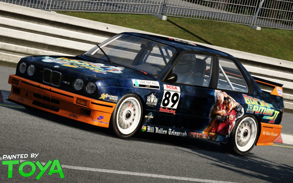 AC Back to the Future BMW M3 E30 DTM v1.0