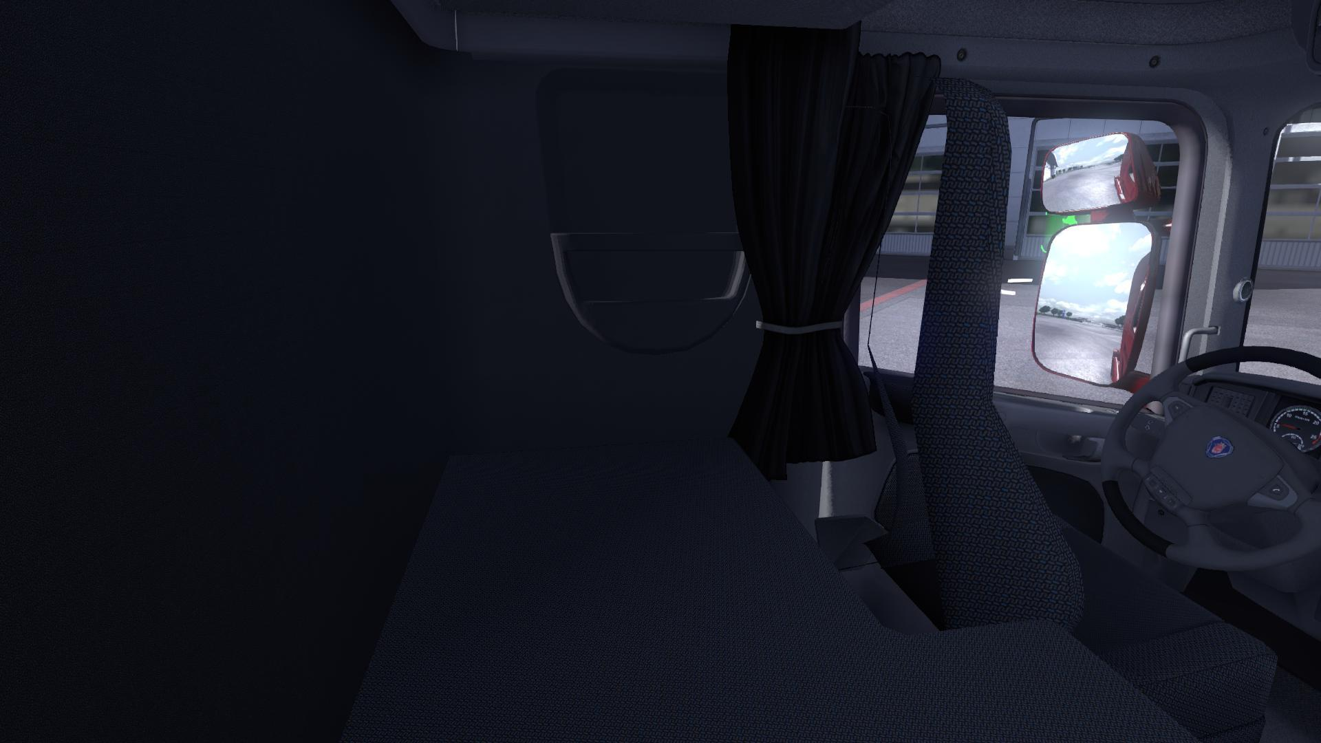 ETS2 Realistic Sleeping