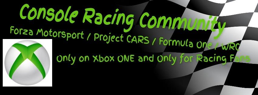 Console Racing Community a hazai XBOX One tulajoknak