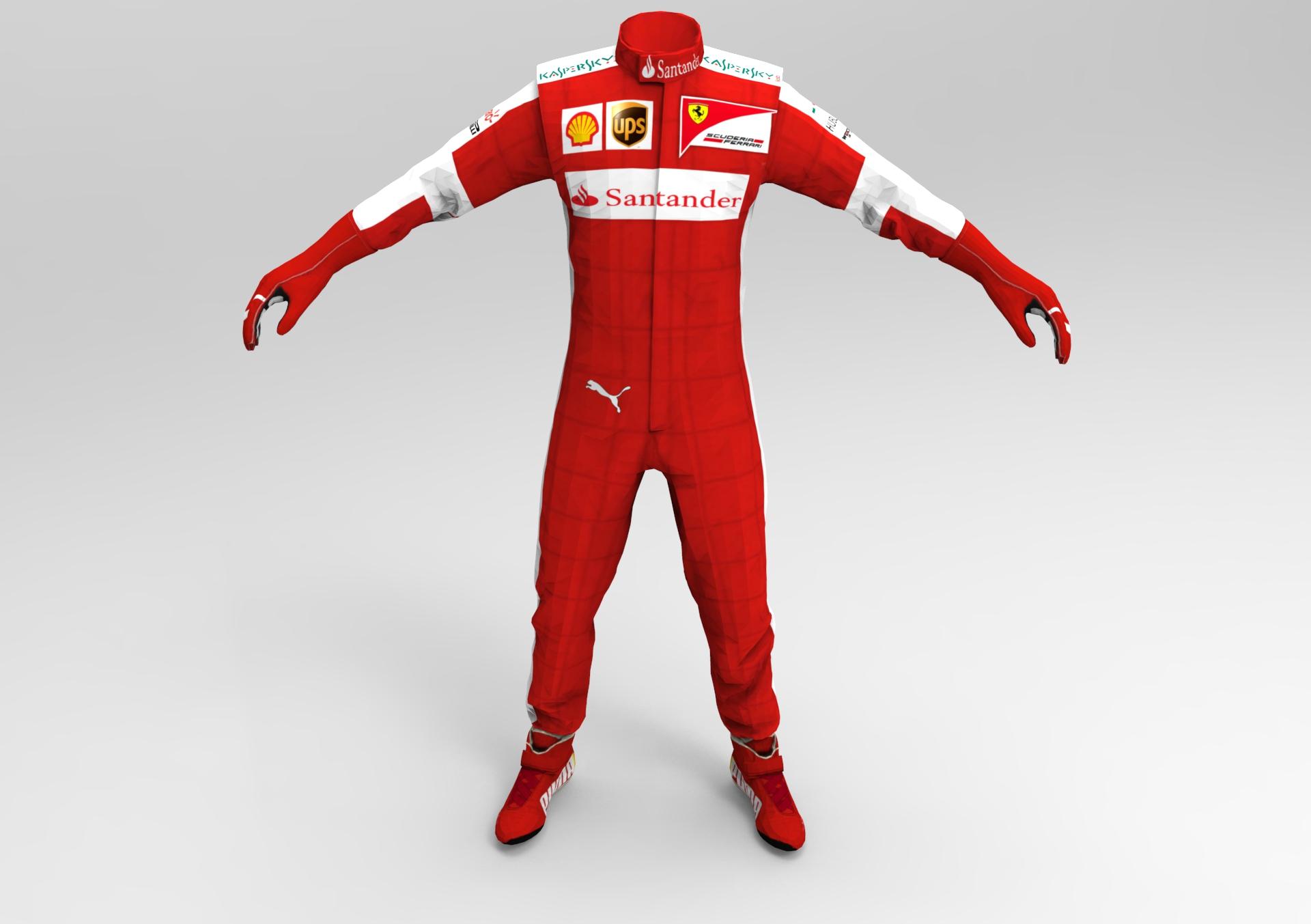 F1 2014 Race Suit Pack v1.0