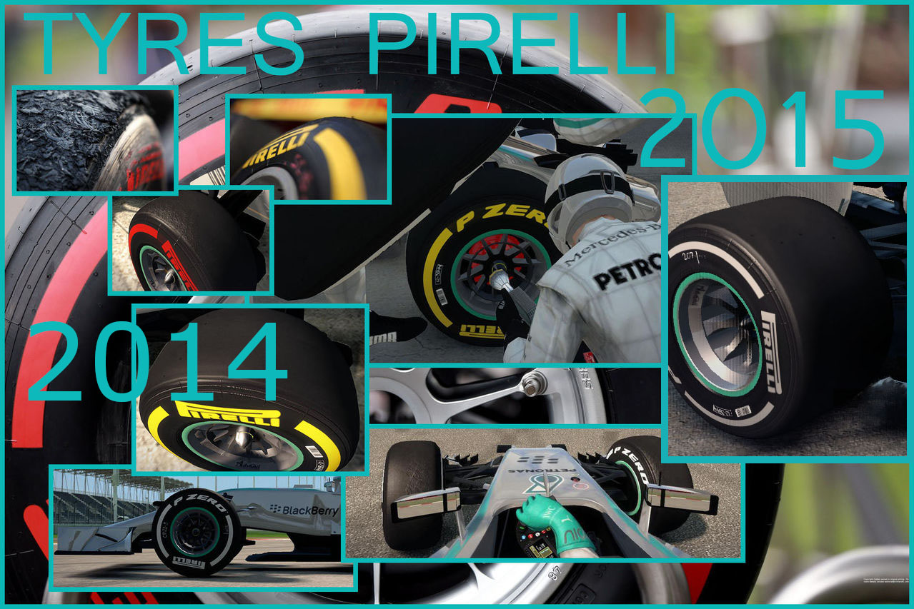 F1 2014 Tyres Edition 2014 – 2015 HD v2.0
