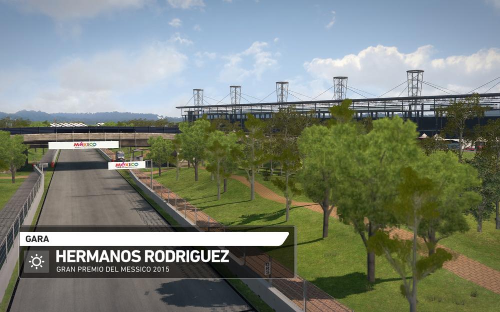F1 2014 Hermanos Rodriguez Mexico MOD 2015 v1.0