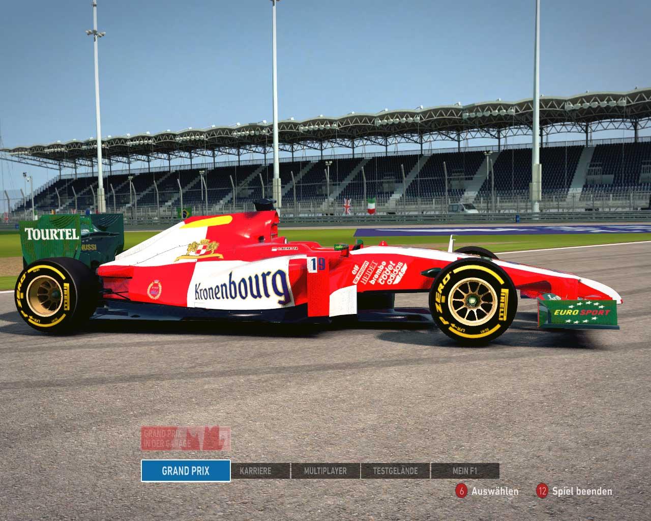 F1 2014 Team Larousse 1994 v1.0