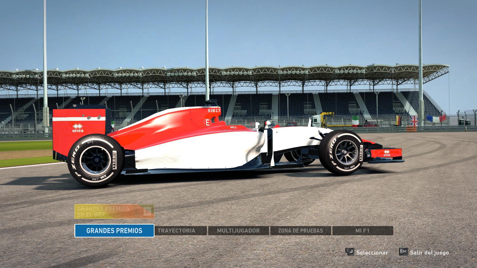 F1 2014 Manor 2015 v1.3