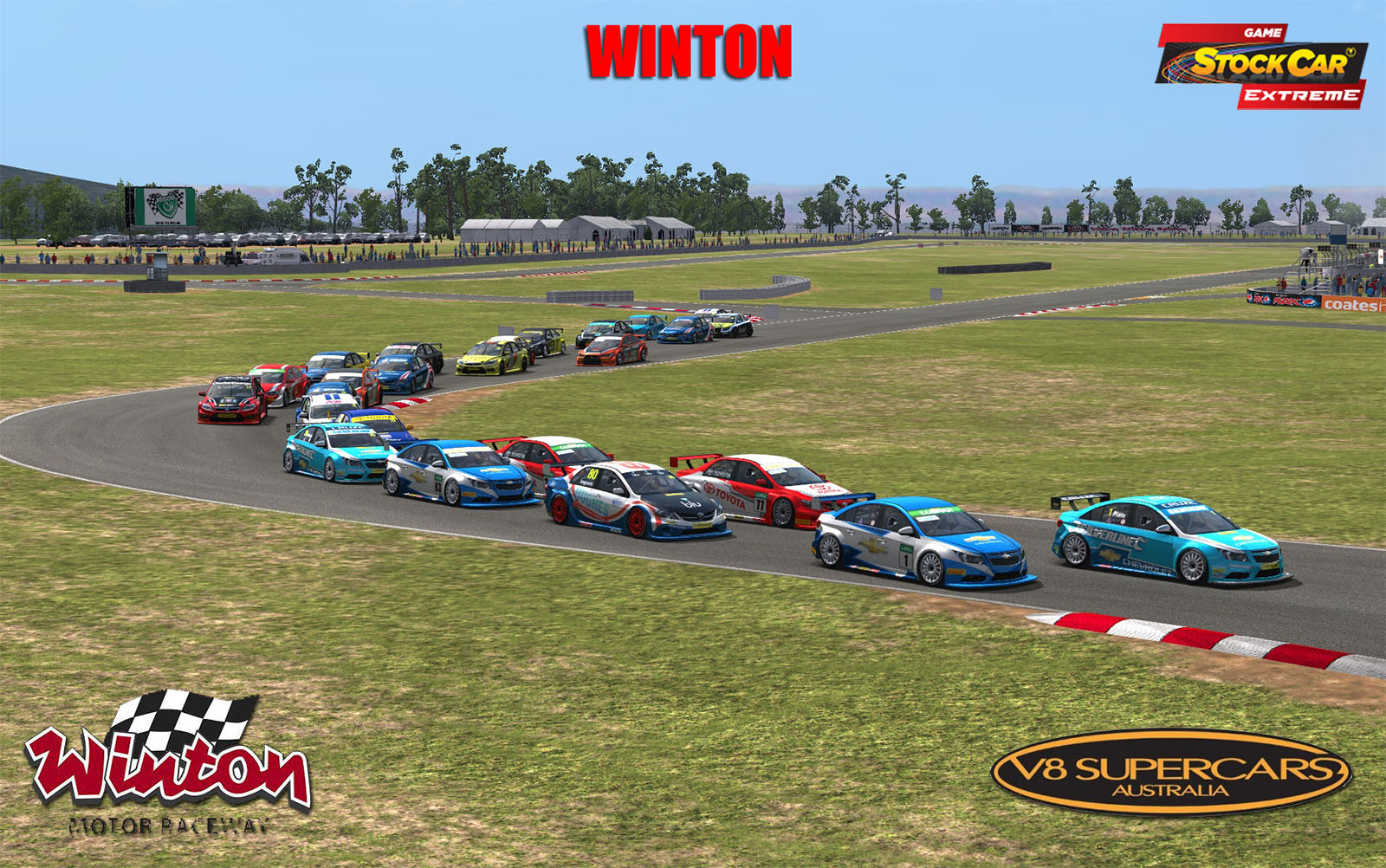 GSC 2013 Winton (V8 Supercars) v2.1