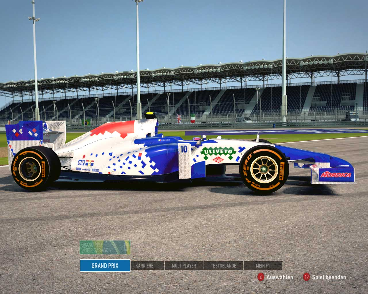 F1 2014 Footwork Team 1994 v1.0