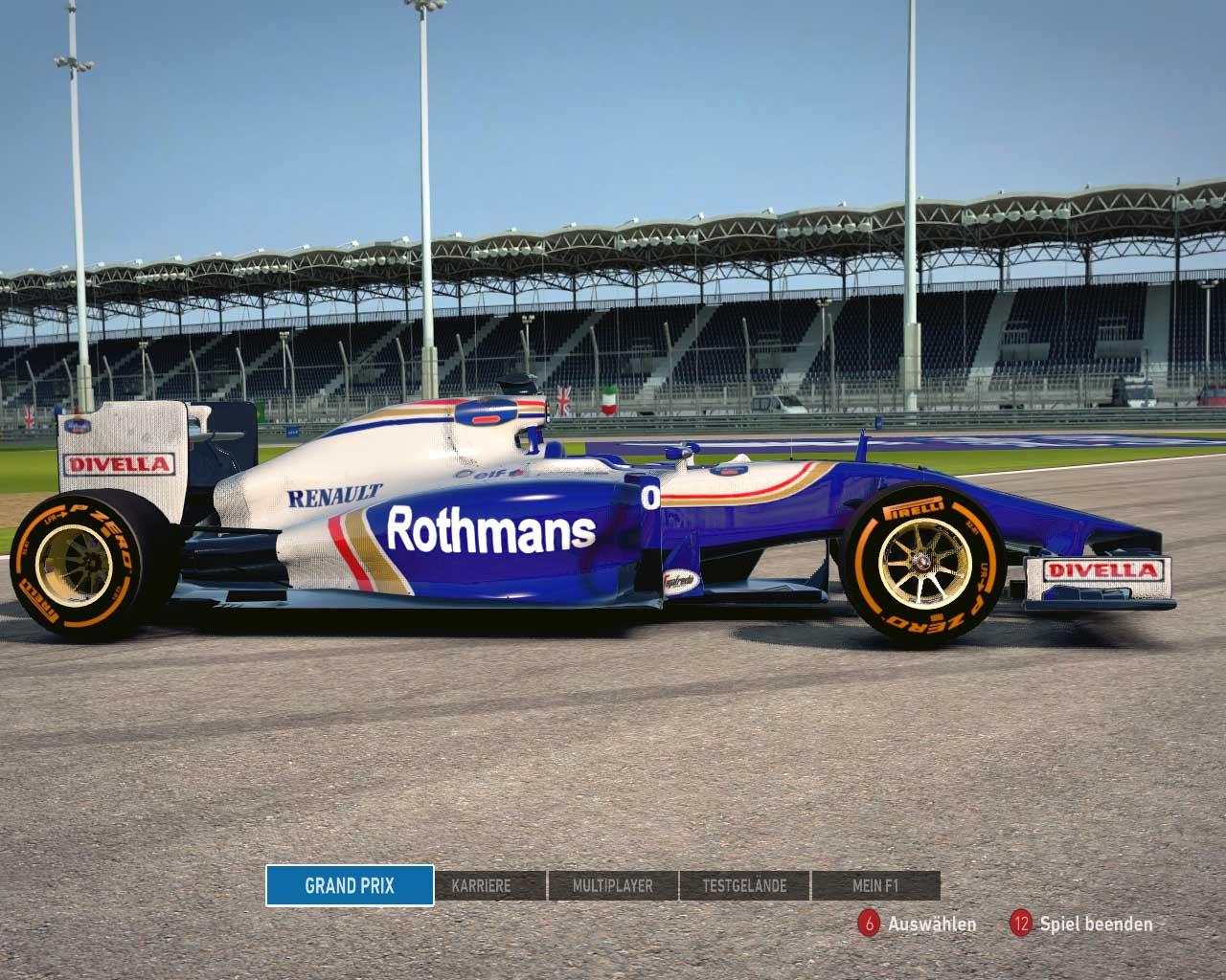 F1 2014 Team Williams Mod 1994
