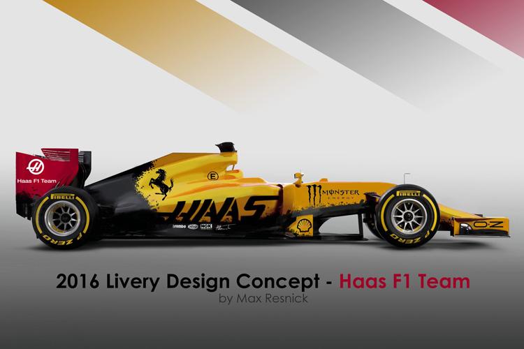 F1 2014 HAAS 2016 Concept Caterham v1.1