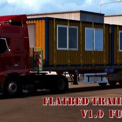 ETS Flatbed Trailers Pack v1.0