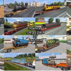 ETS2 Railway Cargo Pack v1.7