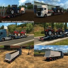 ETS2 Agricultural Trailer Mod Pack v2.2
