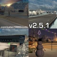 ETS2 Complete Winter Mod v2.5.1