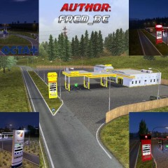 ETS2 Real Gas Station v1.22.x