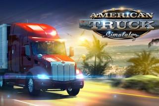 American Truck Simulator képek és trailer