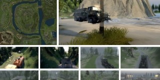 Spintires Аfter a Hard Path 3 Map v1.0