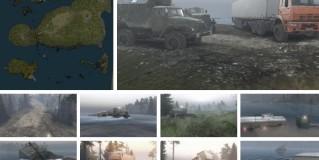 Spintires Flood 2 Map v1.0